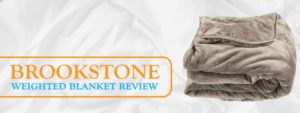 Brookstone Weighted Blanket - Ideal For Anxiety And Kids 1