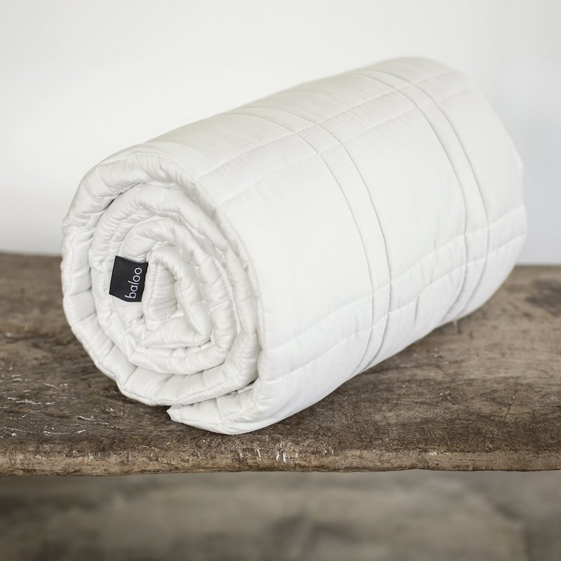 Baloo Weighted Blanket Rolled