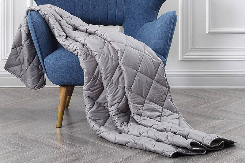 Blankuil Blanket Grey Color Fabric