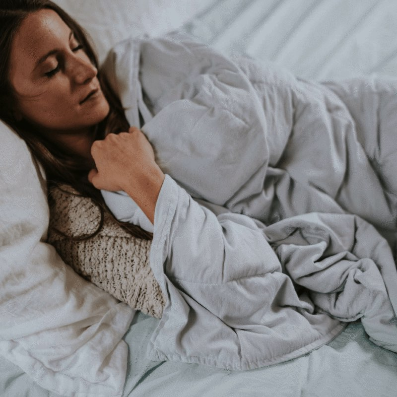 CoolMax Weighted Blanket Fabric Feel