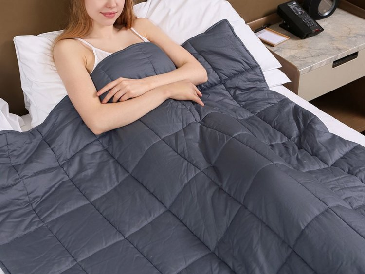 Zonli Weighted Blanket Grey