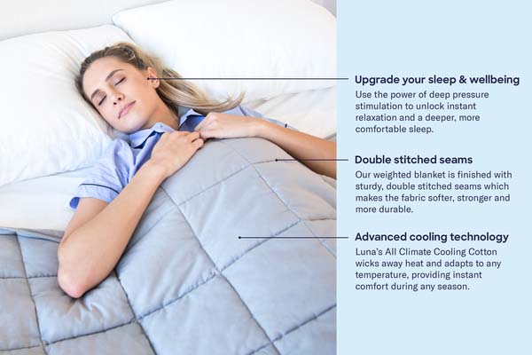 Luna blanket health benefits